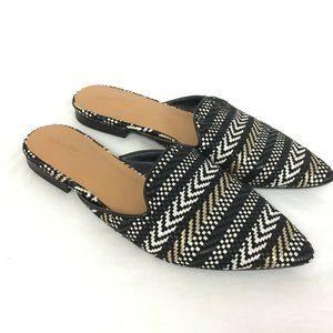 NWOB Universal Thread Flats 8.5 Mules Slip On Shoe